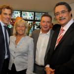 L-R: MR. JULIAN SMITH MP FOR SKIPTON AND RIPON; MRS. LORRAINE FULLBROOK MP FOR SOUTH RIBBLE; MR MARK FULLBROOK, HON. DR. KENNY D. ANTHONY