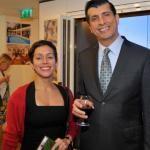 L-R: COUNSELLOR MS. MARIA CECILIA TORO, MR. ALFONSO D'SANTIAGO, MINISTER COUNSELLOR FROM THE EMBASSY OF THE BOLIVARIAN REPUBLIC OF VENEZUELA, LONDON